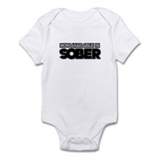 Available in sober Infant Bodysuit