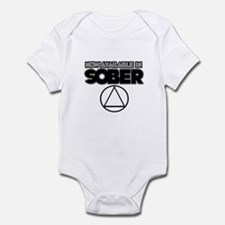 Now Available in Sober 2 Infant Bodysuit