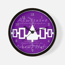 Akwesasne Mohawk Wall Clock