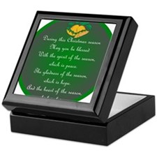An Irish Christmas Blessing Keepsake Box