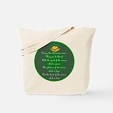 An Irish Christmas Blessing Tote Bag