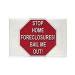 Stop Home Foreclosures! Rectangle Magnet (100 pack