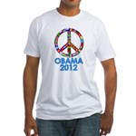 Re Elect Obama in 2012 Fitted T-Shirt