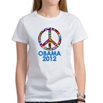 Re Elect Obama in 2012 Women's T-Shirt