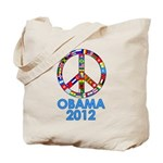 Re Elect Obama in 2012 Tote Bag