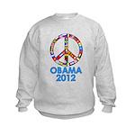 Re Elect Obama in 2012 Kids Sweatshirt