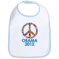Re Elect Obama in 2012 Bib