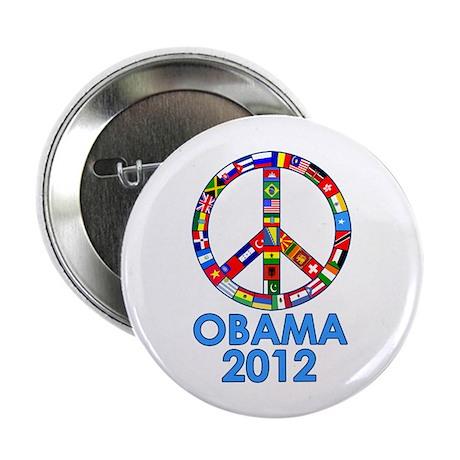 """Re Elect Obama in 2012 2.25"""" Button"""
