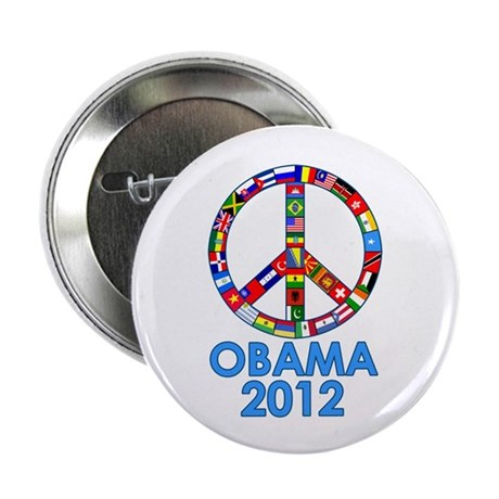 """Re Elect Obama in 2012 2.25"""" Button (100 pack)"""