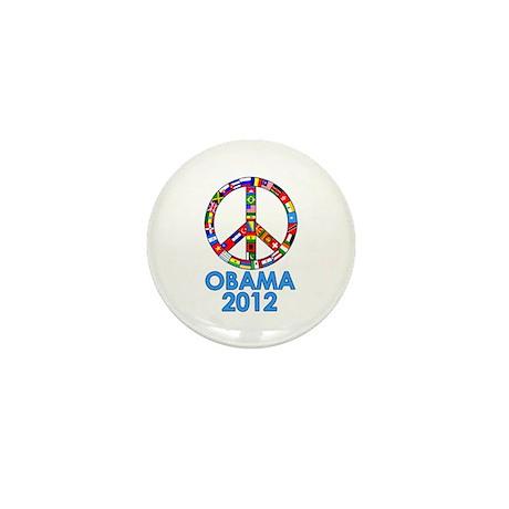 Re Elect Obama in 2012 Mini Button (100 pack)