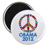 Re Elect Obama in 2012 Magnet