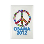Re Elect Obama in 2012 Rectangle Magnet (10 pack)