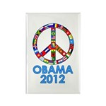 Re Elect Obama in 2012 Rectangle Magnet (100 pack)