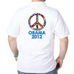 Re Elect Obama in 2012 Golf Shirt