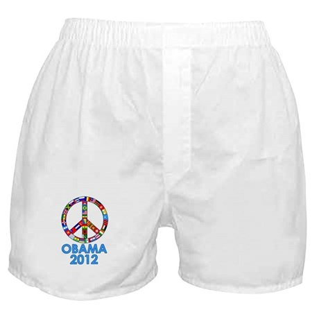 Re Elect Obama in 2012 Boxer Shorts