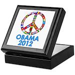 Re Elect Obama in 2012 Keepsake Box