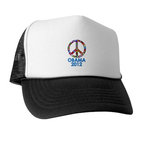 Re Elect Obama in 2012 Trucker Hat