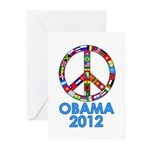 Re Elect Obama in 2012 Greeting Cards (Pk of 10)