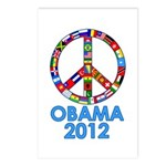 Re Elect Obama in 2012 Postcards (Package of 8)