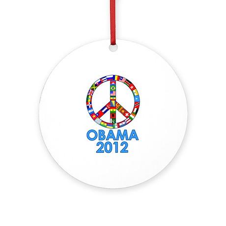 Re Elect Obama in 2012 Ornament (Round)