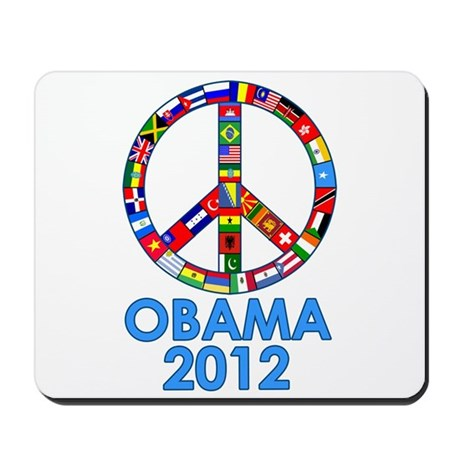 Re Elect Obama in 2012 Mousepad