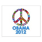 Re Elect Obama in 2012 Small Poster
