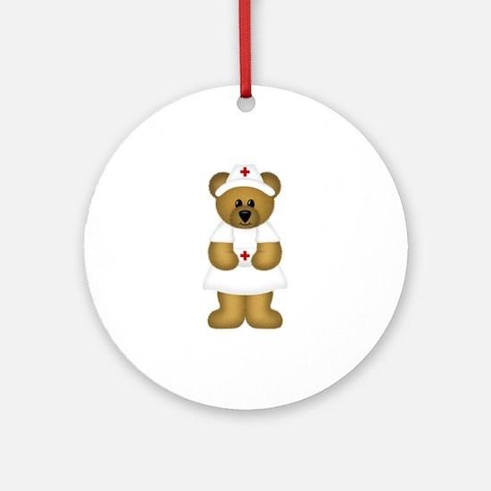 Nurse Ornament (Round)