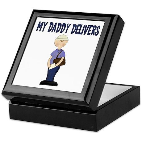 Mail man Keepsake Box