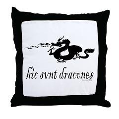 Dragons 4 Throw Pillow
