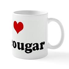 I Love my cougar Mug