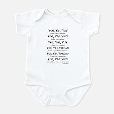 Veni, Vidi ... Infant Bodysuit