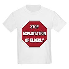 Stop Exploitation Of Elderly T-Shirt