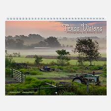 Texas Visions Wall Calendar