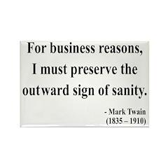 Mark Twain 26 Rectangle Magnet (100 pack)