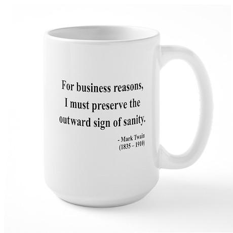 Mark Twain 26 Large Mug