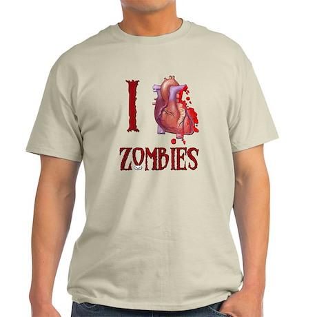 I *heart* Zombies Light T-Shirt