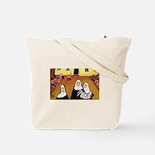 Funny Nun Tote Bag