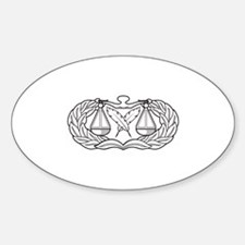 Paralegal Oval Decal