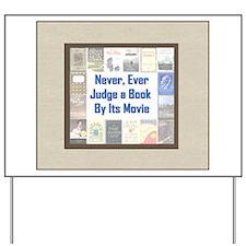 Book vs. Movie Yard Sign