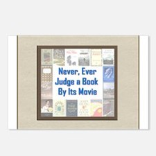 Book vs. Movie Postcards (Package of 8)