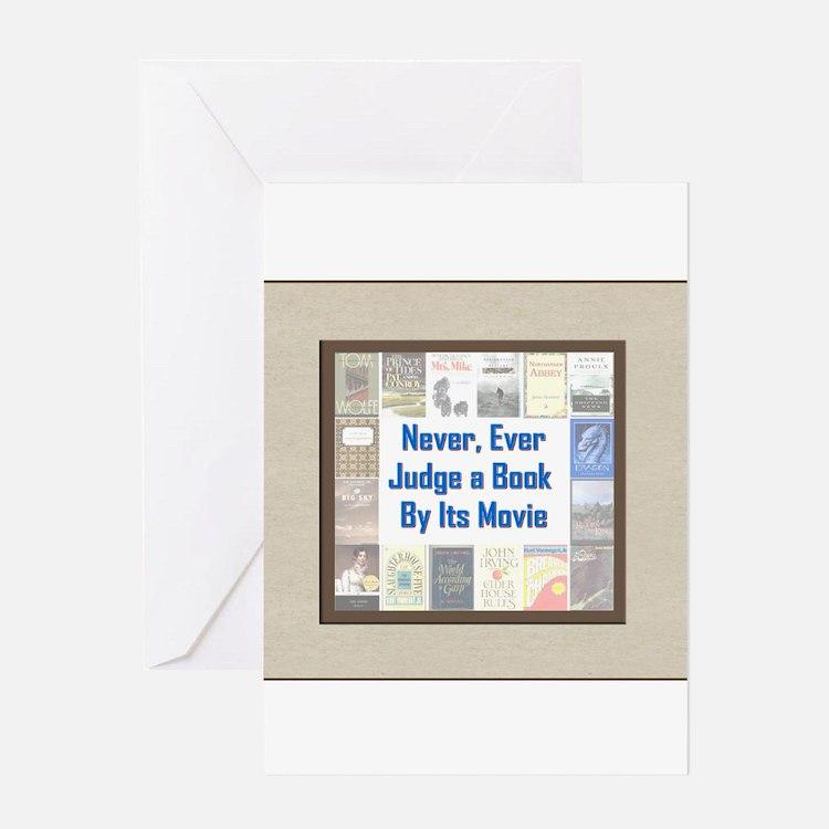 Book vs. Movie Greeting Card