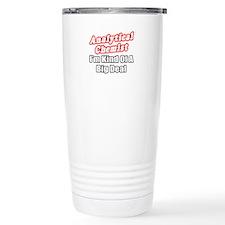 """Analytical Chemist Big Deal"" Travel Mug"
