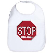 Stop Elder Abuse Bib