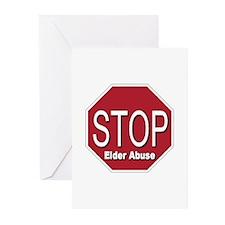Stop Elder Abuse Greeting Cards (Pk of 20)