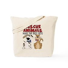 Rescue Animals Tote Bag