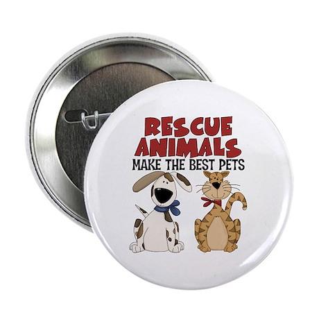 """Rescue Animals 2.25"""" Button"""