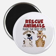 "Rescue Animals 2.25"" Magnet (100 pack)"