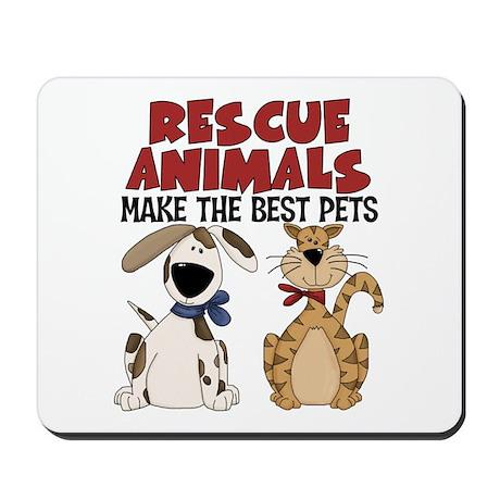 Rescue Animals Mousepad