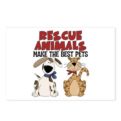 Rescue Animals Postcards (Package of 8)