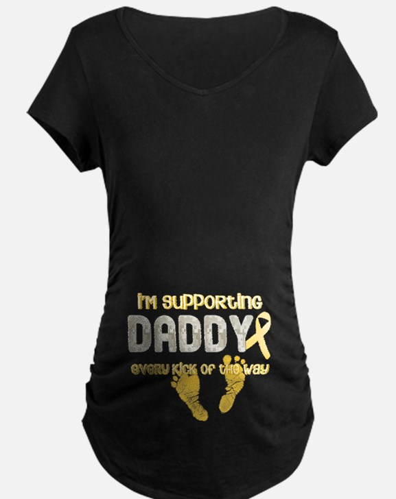 Supporting Daddy Every Kick o T-Shirt